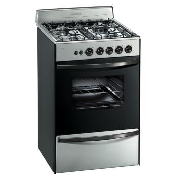 Cocina longvie 56 cm 13331xf multigas inoxidable en garbarino for Cocinas de gas ciudad