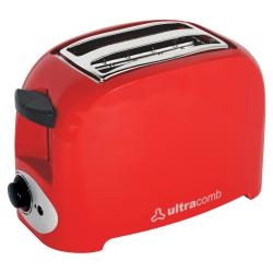 Tostadora Ultracomb 750 W Color Roja