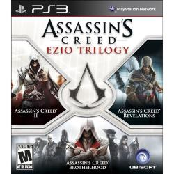 ASSASINS CREED EZIO TRILOGY PS3 Playstation 3