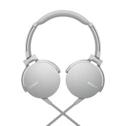 Auriculares 3.5 mm Sony MDRXB550APWCLA Blanco