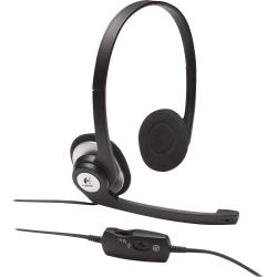Auriculares Logitech CLEARCHAT COMFORT H390 Negro
