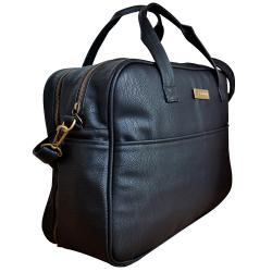 "Bolso Mommy Maternal ""Juana"" Black Negro"