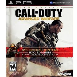 CALL OF DUTY: ADVANCED WARFARE GOLD EDITION PS3 Playstation