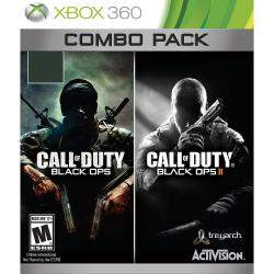 CALL OF DUTY: BLACK OPS 1 AND 2 XBOX 360