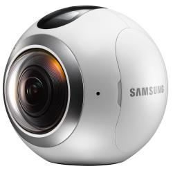 Cámara Digital Samsung GEAR 360° SM-C200 Blanco