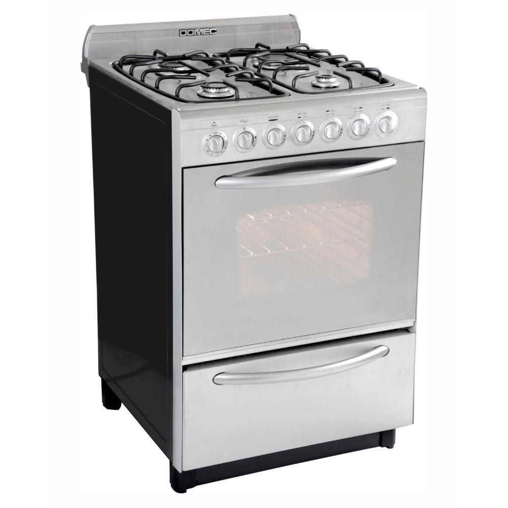 Cocina domec 56 cm cdxuleav reflex multigas inoxidable en for Cocinas online precios
