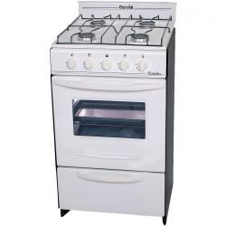 Cocina ESCORIAL 51 cm CANDOR Gas Natural Blanca