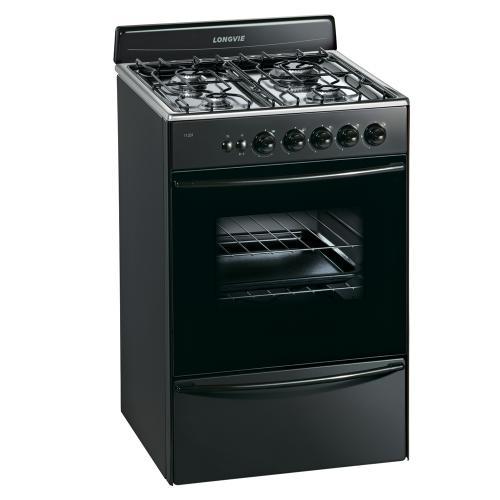 Cocina longvie 56 cm 13331gf multigas grafito en garbarino for Garbarino cocinas a gas