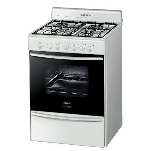 cocina longvie 60 cm 13601bf multigas blanca en garbarino