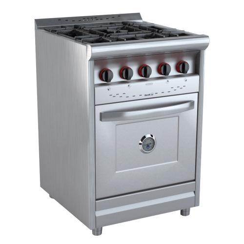 Cocina morelli 60 cm coc 600 pc rf multigas inoxidable en - Cocinas murelli ...