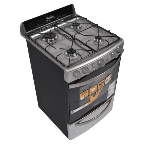 cocina whirlpool 55 cm 55mg wfx56dx multigas inoxidable en On cocina whirlpool wfx56dx
