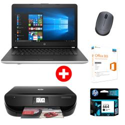 COMBO NTBK HP CI5 14-bs022+MTFC HP 4535 c/cart +OFFICE+MOUSE