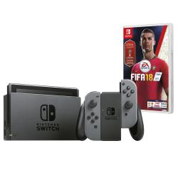 Consola Nintendo Switch Grey + FIFA 18