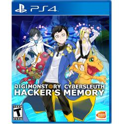 DIGIMON STORY CYBER SLEUTH: HACKER'S MEM PS4