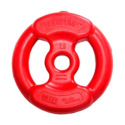 Disco de 2.5 Kg Body Pump Rojo