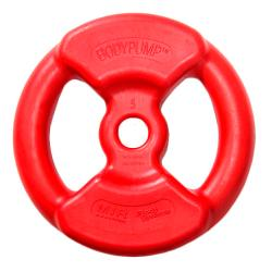 Disco de 5 Kg Body Pump Rojo