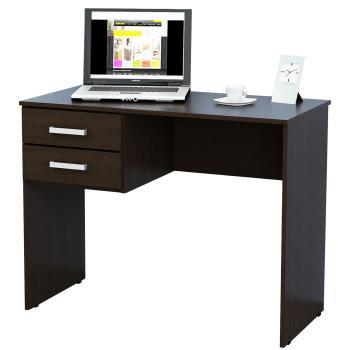 Escritorios en garbarino for Muebles de oficina color wengue