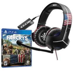 FAR CRY 5 PS4 + Auricular Gamer Thrustmaster Y-350CPX