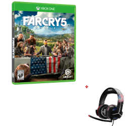 FAR CRY 5 XBOX ONE + Auricular Gamer Thrustmaster Y-300CPX