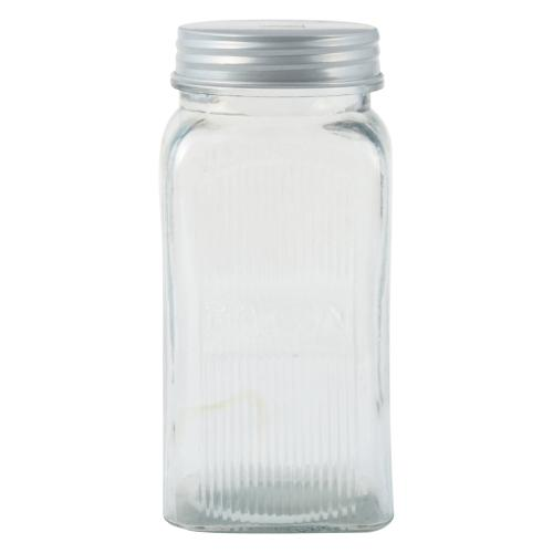 Frasco de vidrio transparente volf 21cm en garbarino - Vidrio plastico transparente precio ...