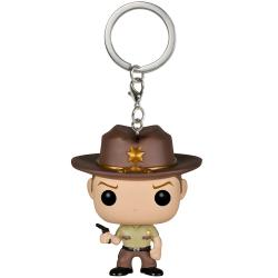 FUNKO POP KEYCHAIN: RICK GRIMES - The Walking Dead