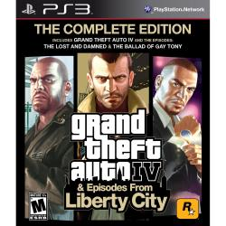 GTA IV COMPLETE EDITION PS3