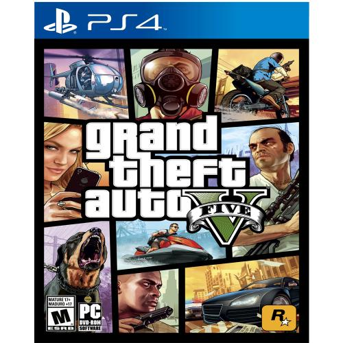 gta v ps4 playstation 4 en garbarino