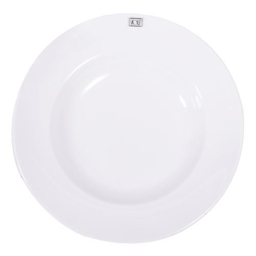 Juego de 6 platos hondos blancos de porcelana en garbarino for Casa royal sucursales