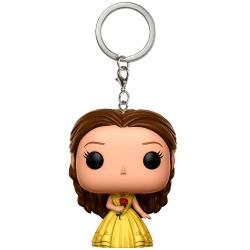 Llavero Coleccionable POP KEYCHAIN: BELLA - Beauty and The B