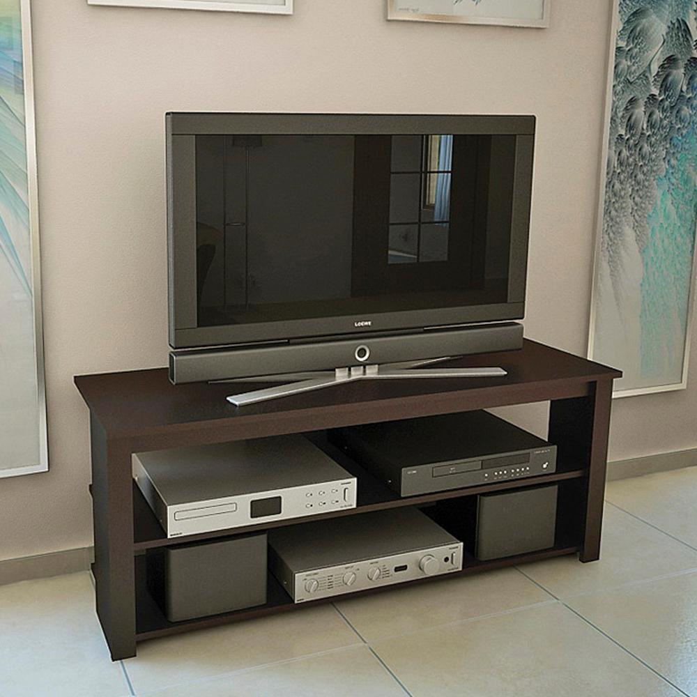 mesa para tv color taba l