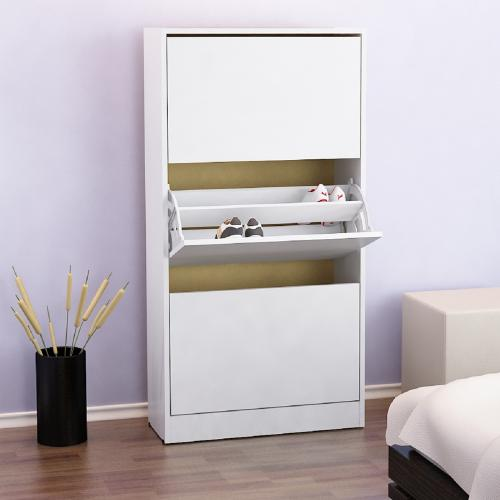 Mueble Botinero Para 18 Pares de Zapatos Color Blanco en Garbarino