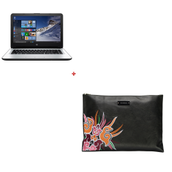 Notebook HP 14-AC111LA + Funda DESIDERATA DE REGALO