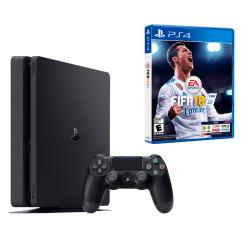 PS4 SLIM 1 TB FIFA 18 + 3 FAVORITOS DE REGALO