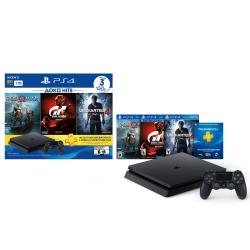 PS4 SLIM 1 TB HITS BUNDLE 3