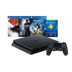 PS4 SLIM 500 GB NEW HITS BUNDLE