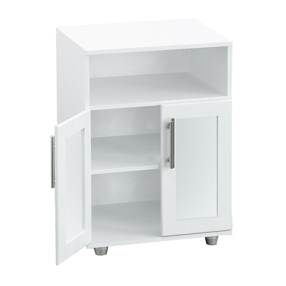 Mueble para microondas mueble de microondas puertas y - Mueble auxiliar microondas ...