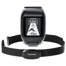 Reloj GPS Tom Tom MULTISPORT GPS WATCH+HRM Dark Grey