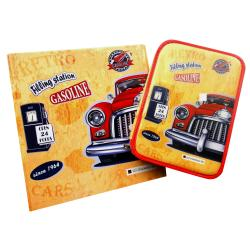 Set Escolar Carpeta y Cartuchera 2 Pisos Citanova Cars