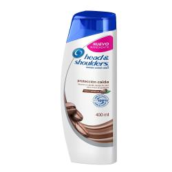 Shampoo Head and Shoulders ANTIFALL Con cafeína  400 Ml