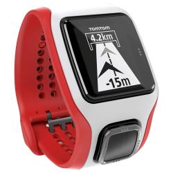SmartWatch Tom Tom RUNNER CARDIO Blanco y Rojo