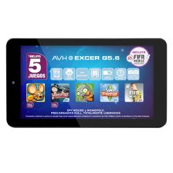 "Tablet AVH Excer G5.6 7"" Negro 16 GB"