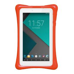 "Tablet Philco TP7A4 7 "" KIDS Blanco 8 GB + Funda Naranja"