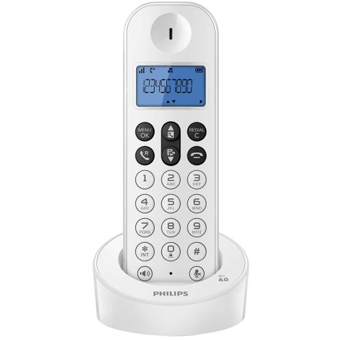 Tel fono inal mbrico philips d1211w 77 dect en garbarino for Ver sucursales telefonos