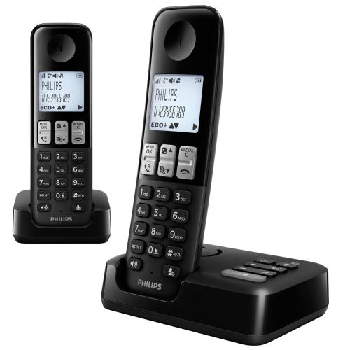 Tel fono inal mbrico philips d2352b 77 dect en garbarino for Ver sucursales telefonos