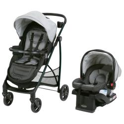 Travel System Graco REMIX Negro y Gris