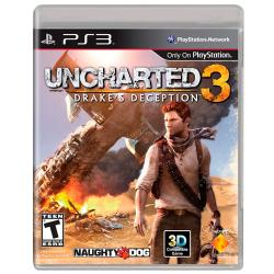 UNCHARTED 3: DRAKES DECEPTION PS3 Playstation 3